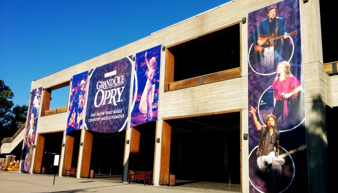 Grand Ole Opry house outside Nashville Branson Memphis Music Cities